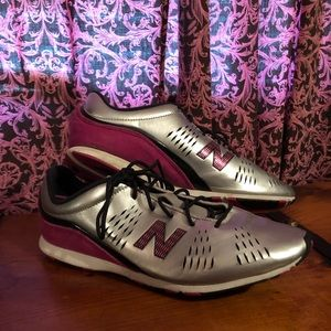 Silver New Balance Sneakers